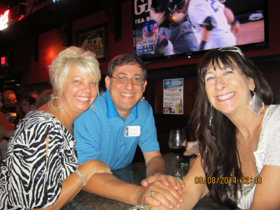 Sue Gerbec Magee, Mike Madonio, Connie Lute Miller
