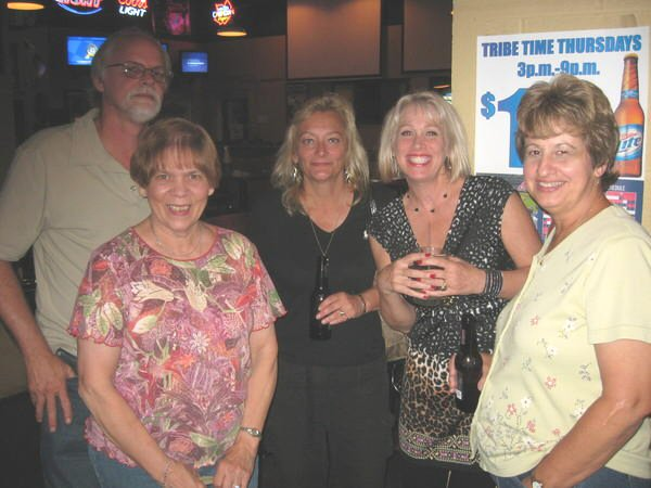 Kevin and Carol Woods,      Janice Simich, Terrie Kisha, Janice's cousin