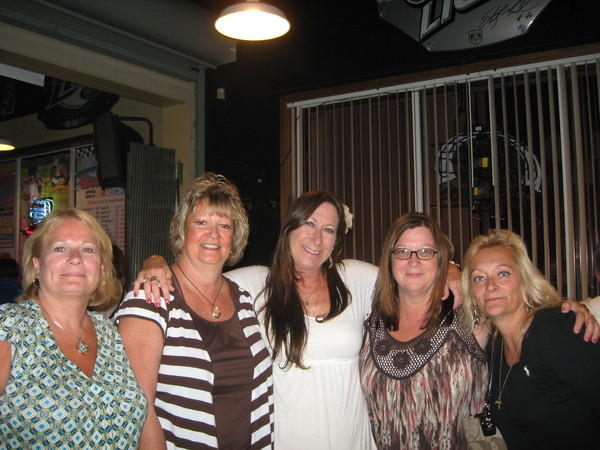 Patty Postlewaite Hetrick, Diana Staubs Madonio,     Connie Lute Miller, Cathy Skinner Bondurant, Janice Simich